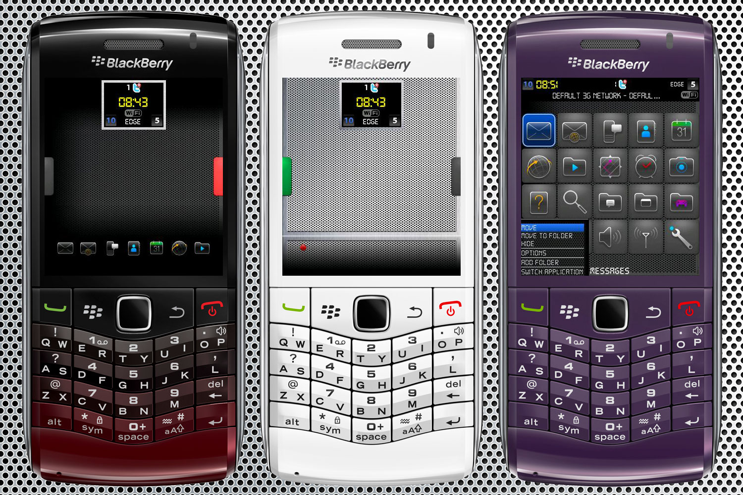 BerryReview BlackBerry Themes Database.