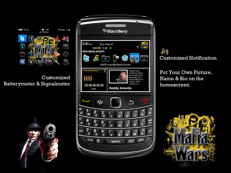 mafia wars for blackberry torch